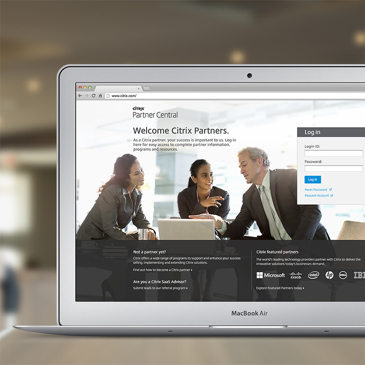 Citrix Partner Central Site