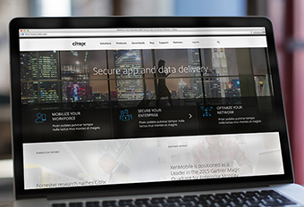 Citrix Homepage Re-fresh